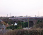GNER Class 91 : Little Bytham : December 2002