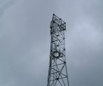 Orange phone mast