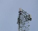 Orange phone mast