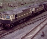D6582 (33062) and D6581 (33061) : Little Bytham : June 1962