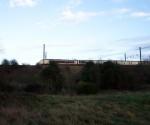 GNER 373/2 Regional Eurostar : Little Bytham : December 2002