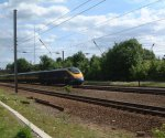 GNER 373/2 Regional Eurostar : Little Bytham : May 2003