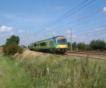 Central Trains Class 170 Turbostar : Little Bytham : September 2004