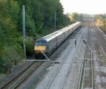 GNER Class 91 : Little Bytham : August 2008